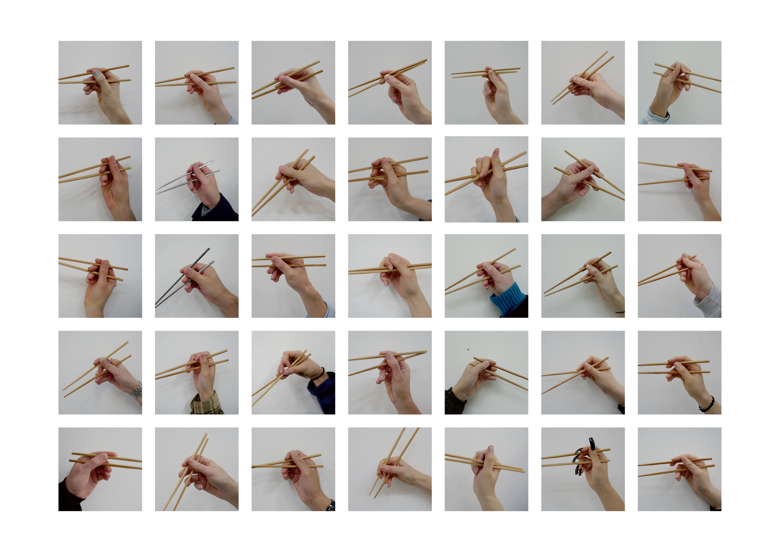 [Fig.1]  Chopsticks , 2016