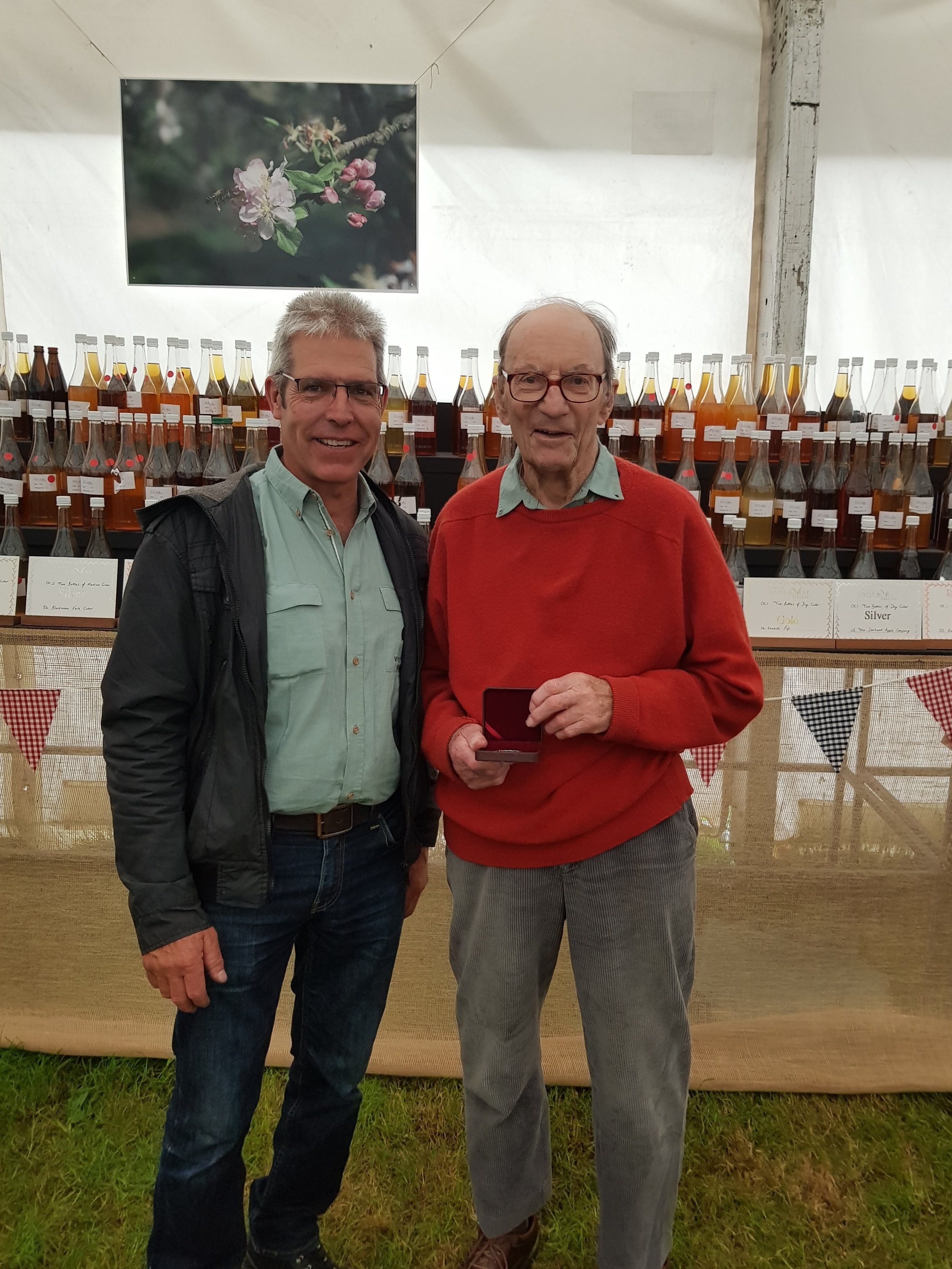 Edward Clifton-Brown and Roger Larder awarded Innovation Prize at Bath & West Show