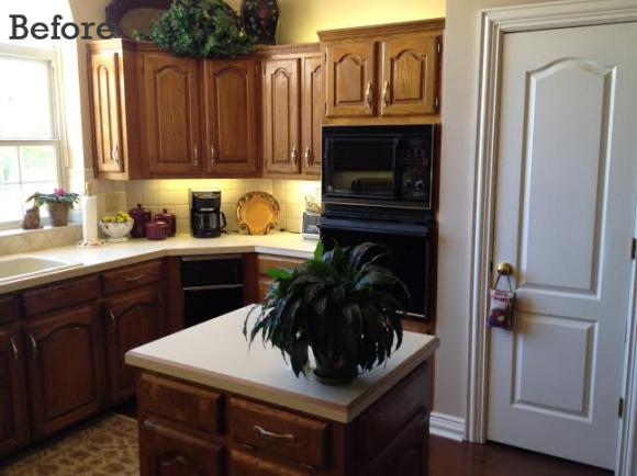 Kamback Kitchen Before
