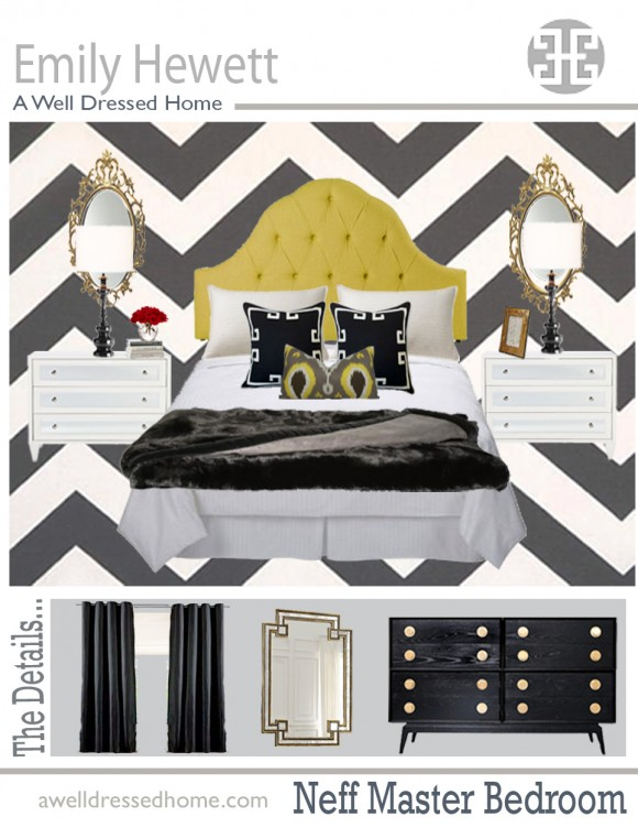 Neff Master Bedroom Design Board