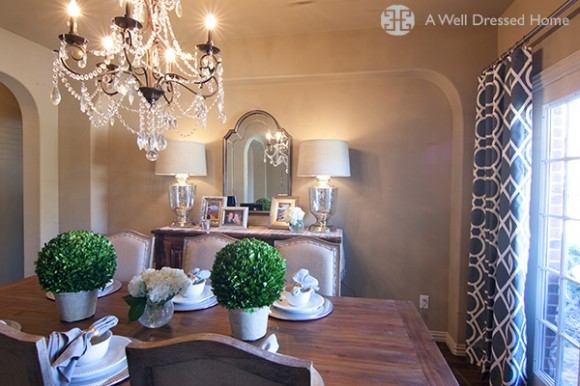 A Well Dressed Home Dining Room Make Over 8
