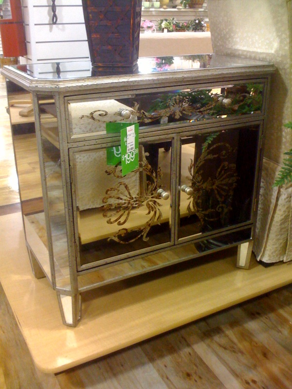 Home Goods Frugal Find Mirrored Dresser