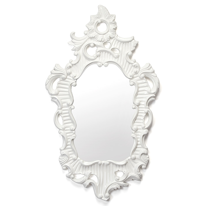 ZGallerie angelique mirror white Frugal Find