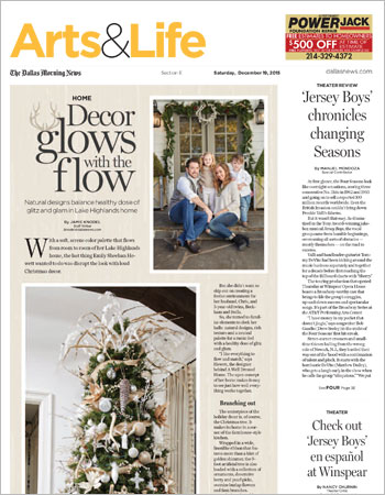 December 19, 2015   Decor Glows with the Flow