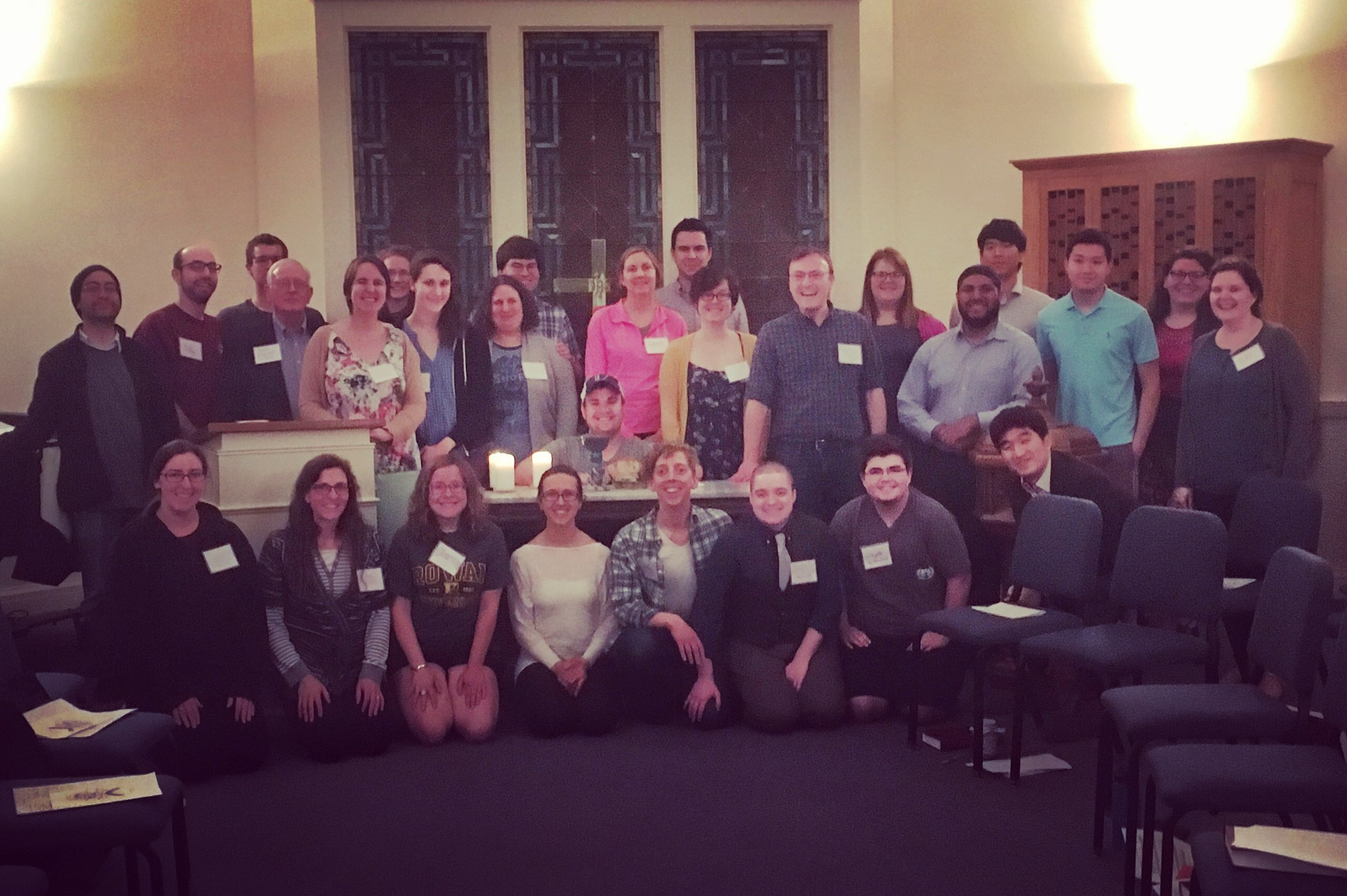 Blessings to our Graduates - The final Breaking Bread worship service of the academic year included a blessing of 8 graduates! We were thrilled to mark this milestone and pray for God's continued faithfulness. We are excited to see what is next for the 2 Princeton University undergraduates, 3 Princeton Theological Seminary Master of Divinity graduates, 2 Westminster Choir College graduates, and 1 Rowan University graduate.