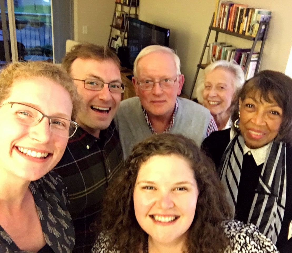 Board Dinner - Our gratitude list would not be complete without mention of the Westminster Foundation Board. Their compassionate, tireless, and joyful investment is pushing Princeton Presbyterians forward into a new and marvelous season.Pictured are a few board members near the end of our May dinner celebration, wrapping up the 2016-2017 academic year.