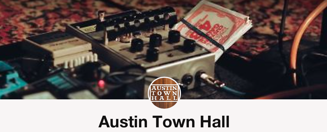 ancient river austin town hall