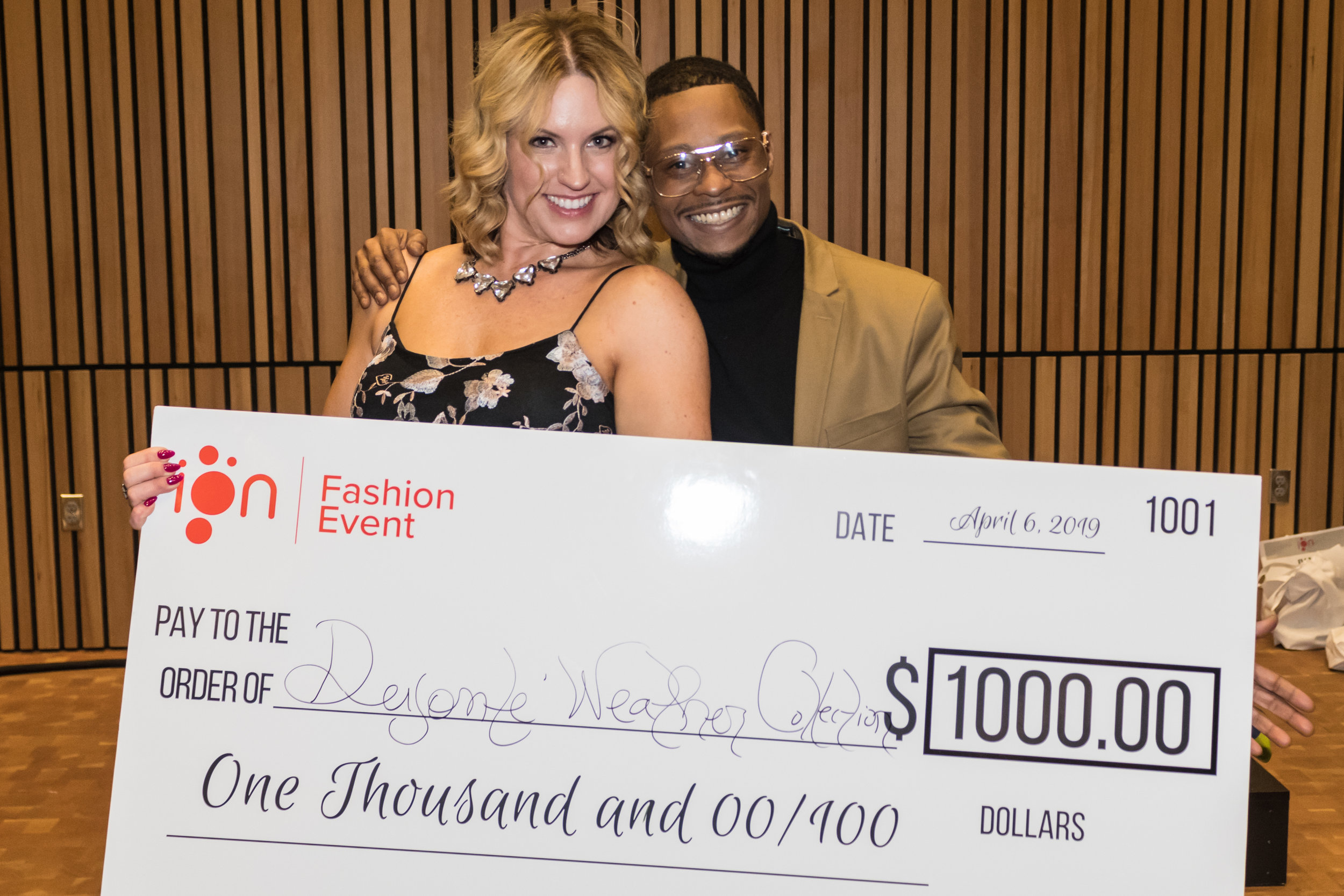 Winner of the ION Fashion Event Design Competition 2019 is  Deyonté Weather Collection  Designer: Deyonté Weather Photo: Aileen Ly Photography  H&MU: Gene Juarez Salons and Spas