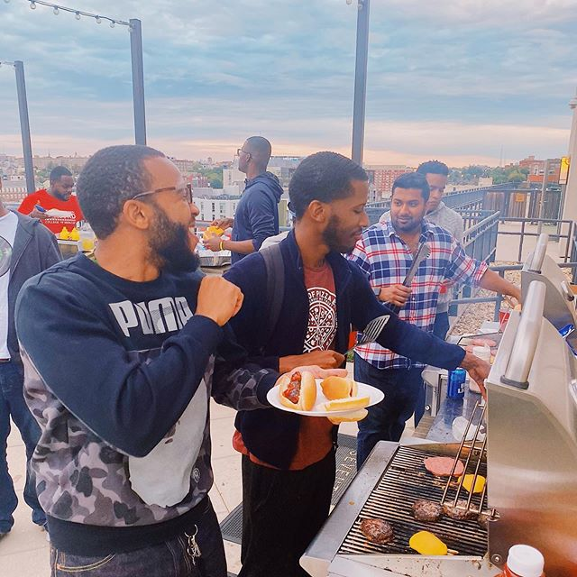 """𝟏𝟎-𝟎𝟖-𝟏𝟗  Well the men of 2023 heard the lovely women of 2023 were having a """"End of Unit 1 All Girls Brunch"""", so they decided to grab a few patties, drinks, propane tanks and have our own good time after our first exam of Unit 2! But we're also nice guys and very inclusive, so we invited the women to join us after bonding for the first hour 🤝😂 #noshade #wellmaybejustalil"""
