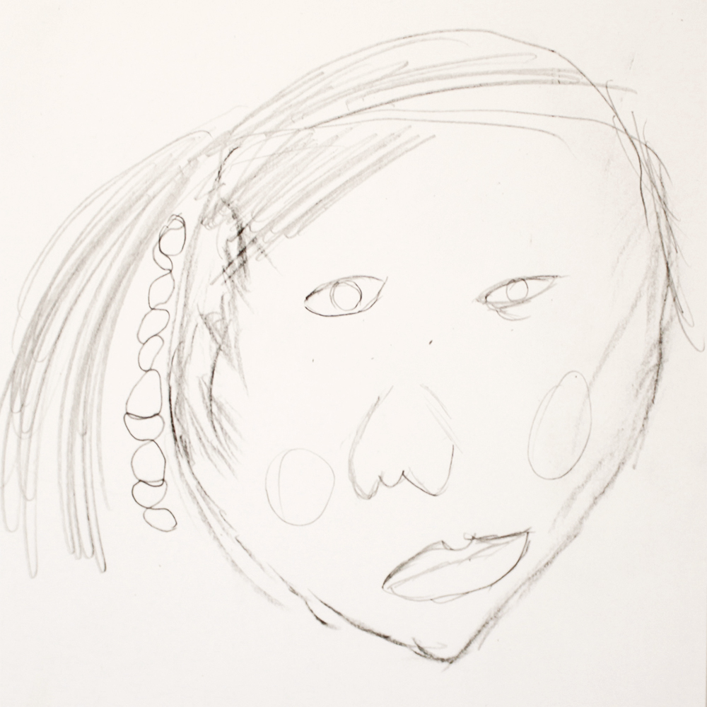 Autorretrato nieta Berta