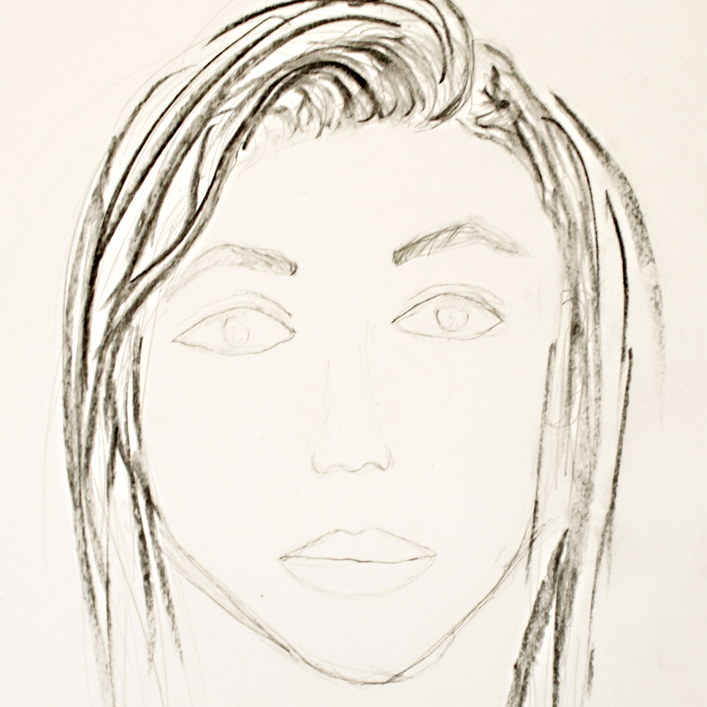 Autorretrato sobrina Berta