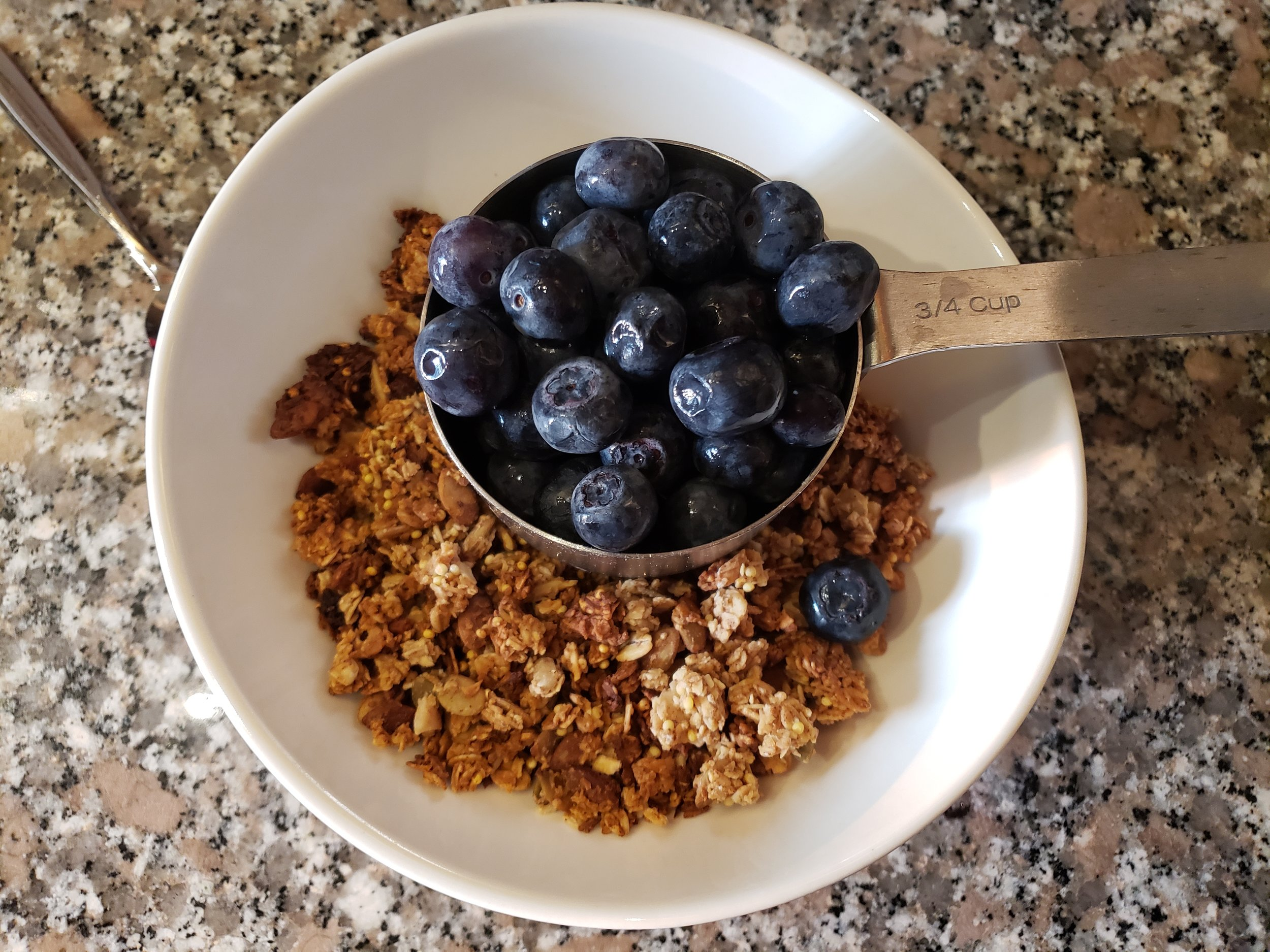honey millet granola