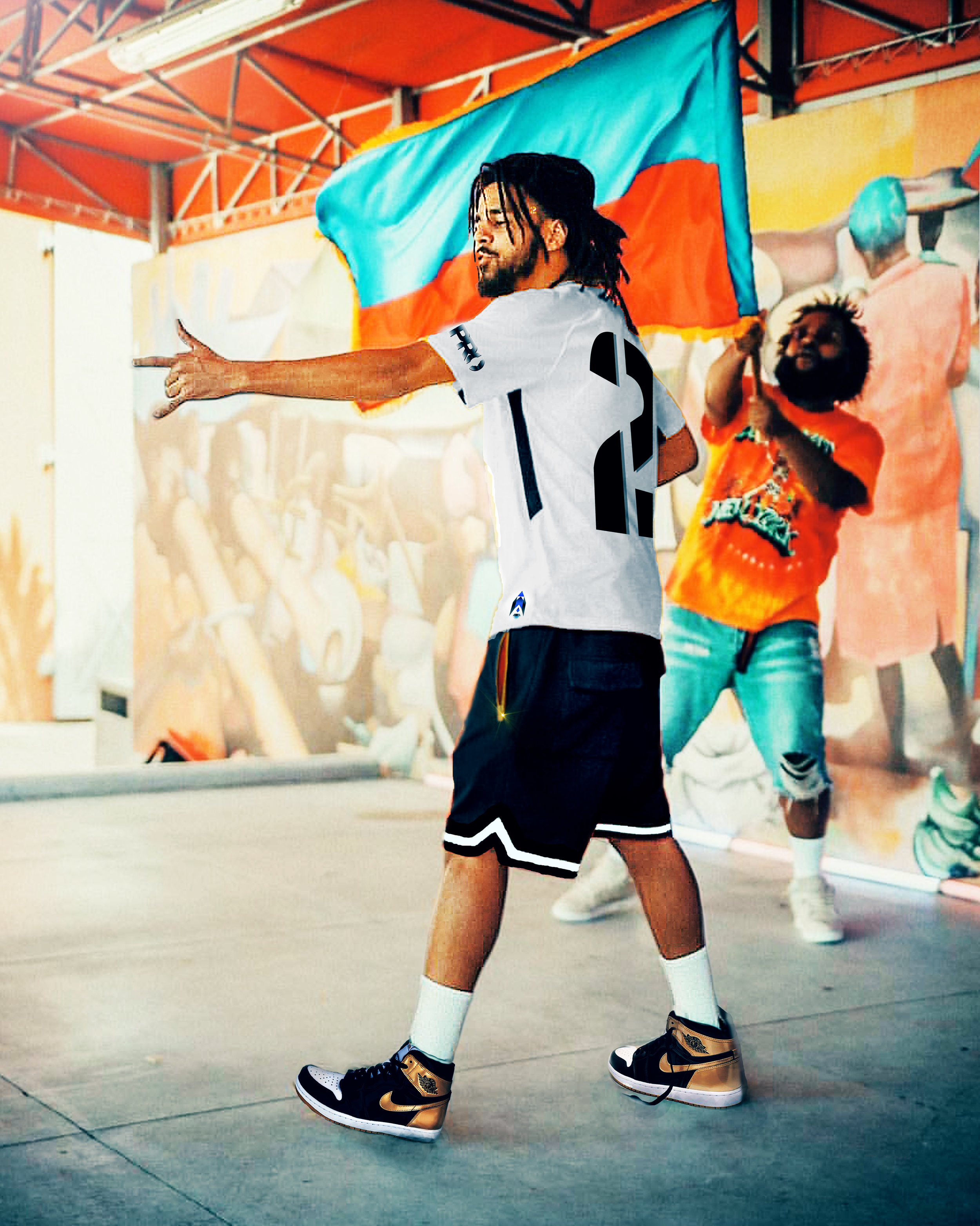 J. Cole x Bas - Tribe AFTER #2UP Didit