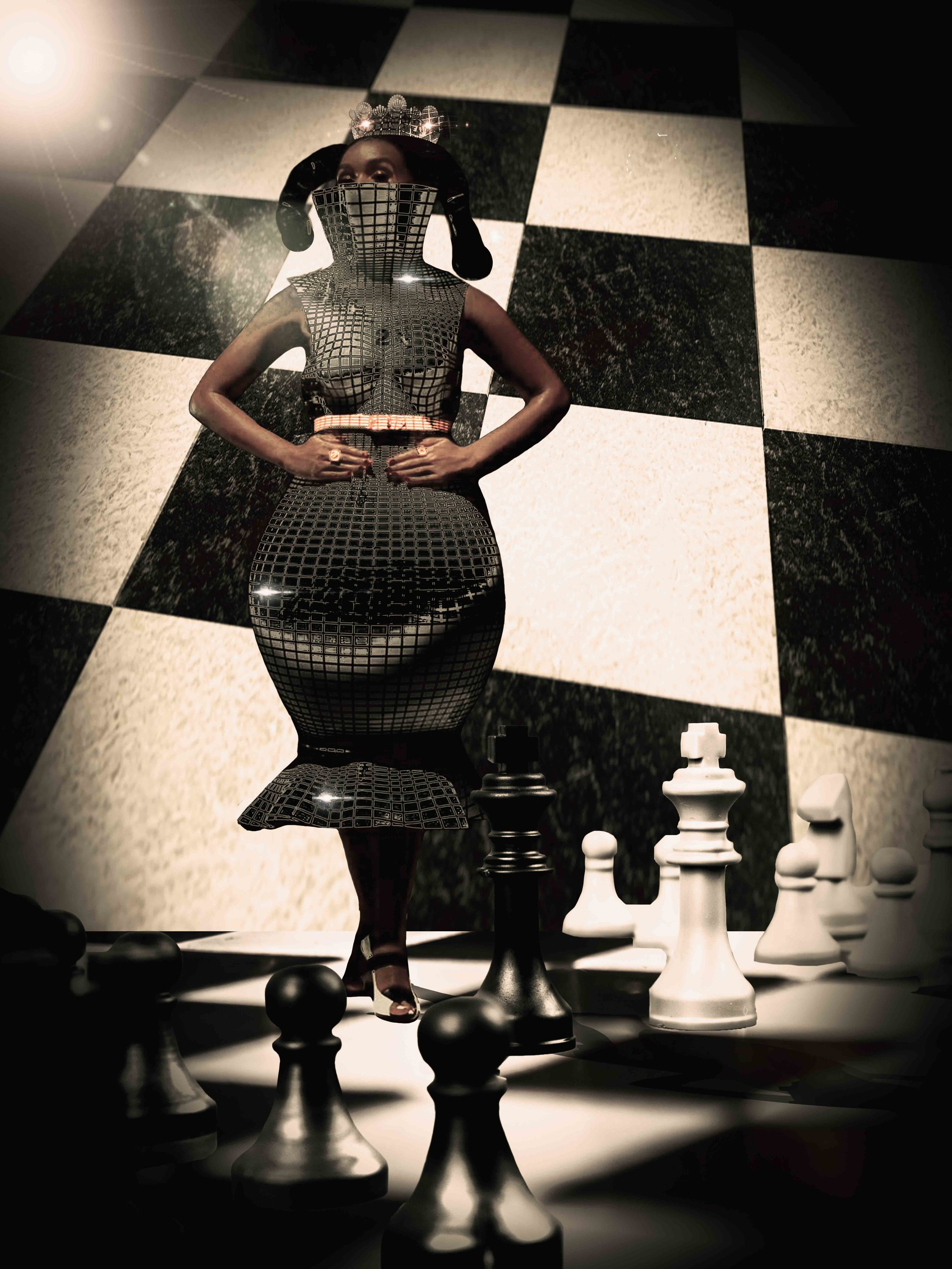 Remember Kings & Queens, protect your Queen 👑 she moves in ways that you can't. 🔲🔳 Tag @janellemonae ❗ ❗ .