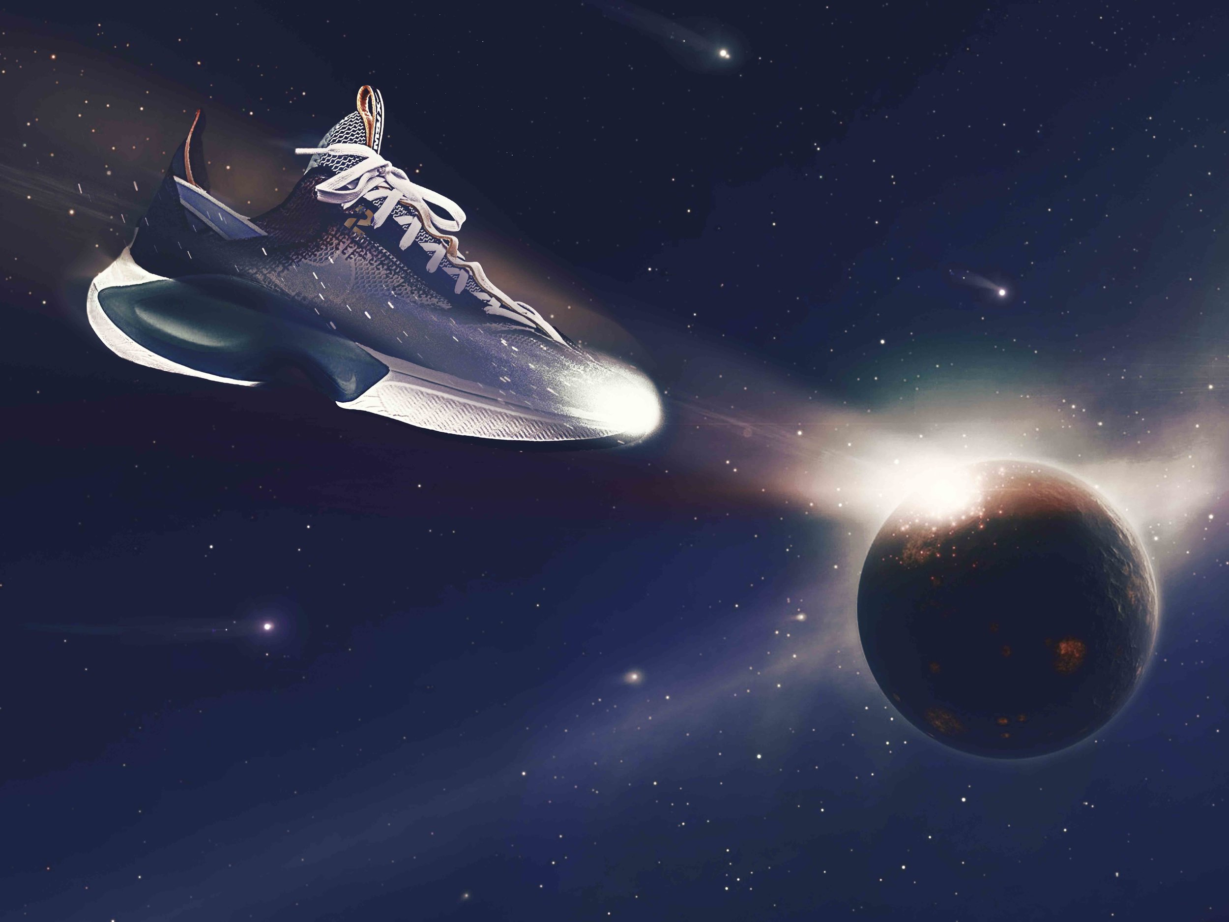 Had a blast editing @nike new D/MS /X N110 ☄️which dropped last week in Europe. An out of this world sneaker deserves an out of this world edit!!