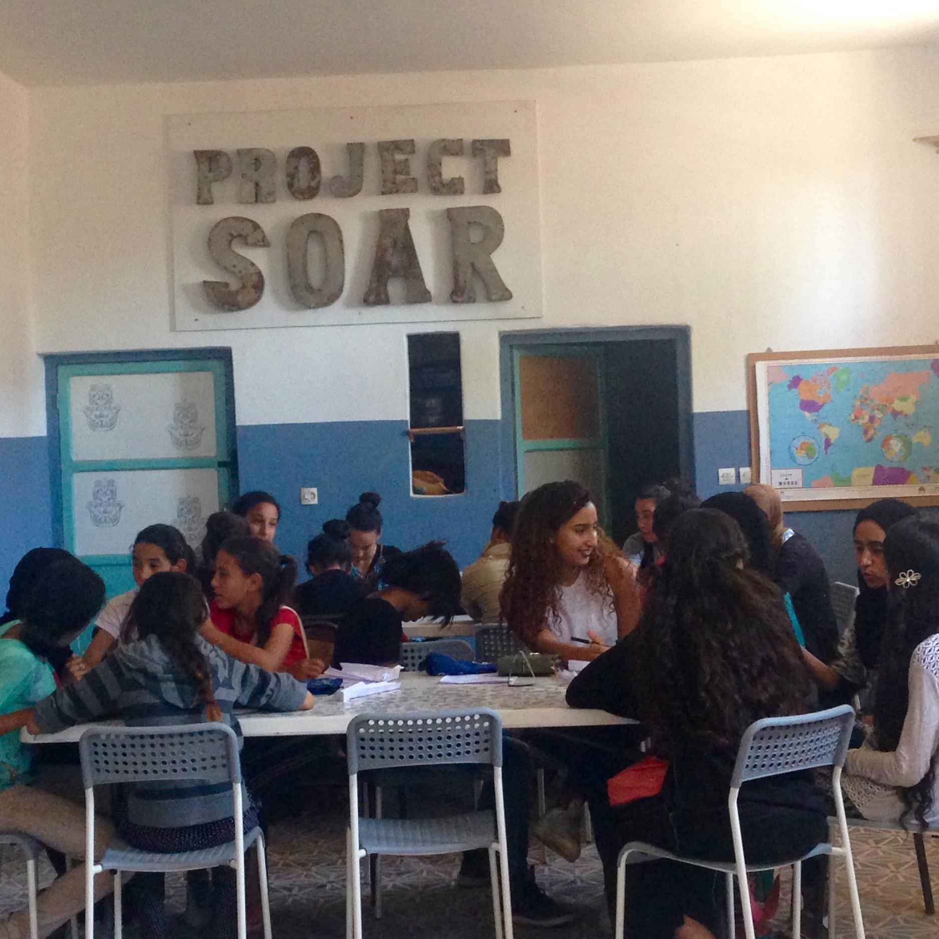 Classroom at Project SOAR
