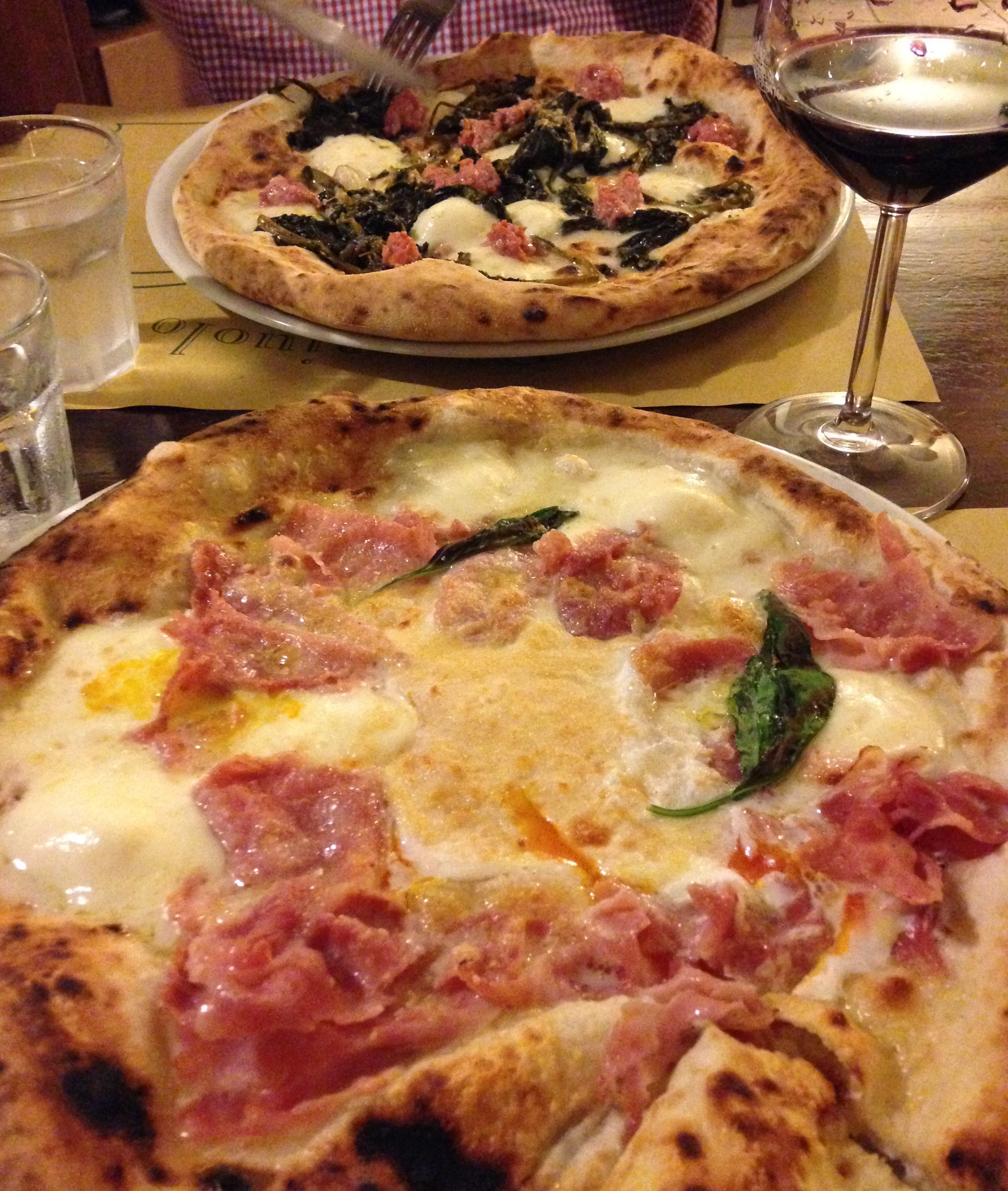 Pizza in Florence
