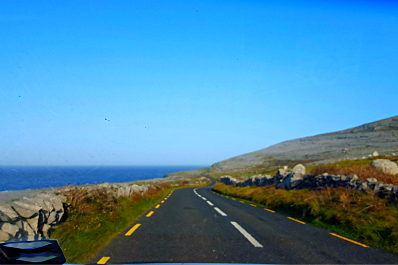 driving the burren