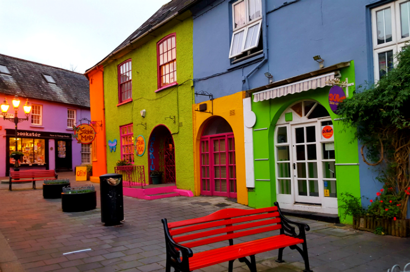 Colorful Kinsale Ireland