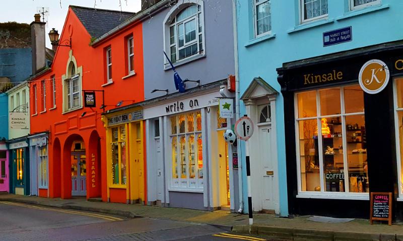 Kinsale Ireland Main Street
