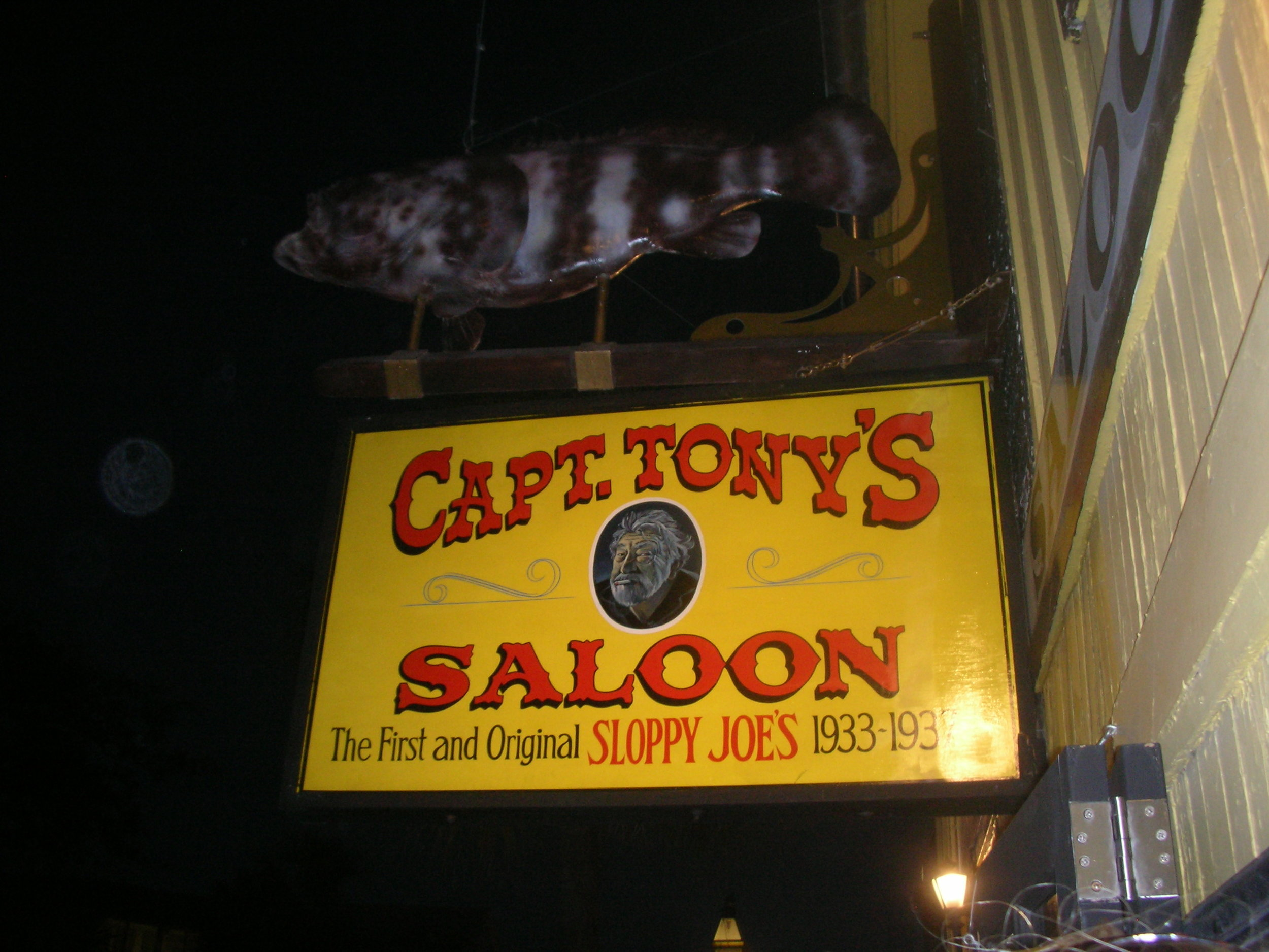 Captain Tony's for all you Jimmy Buffett fans out there