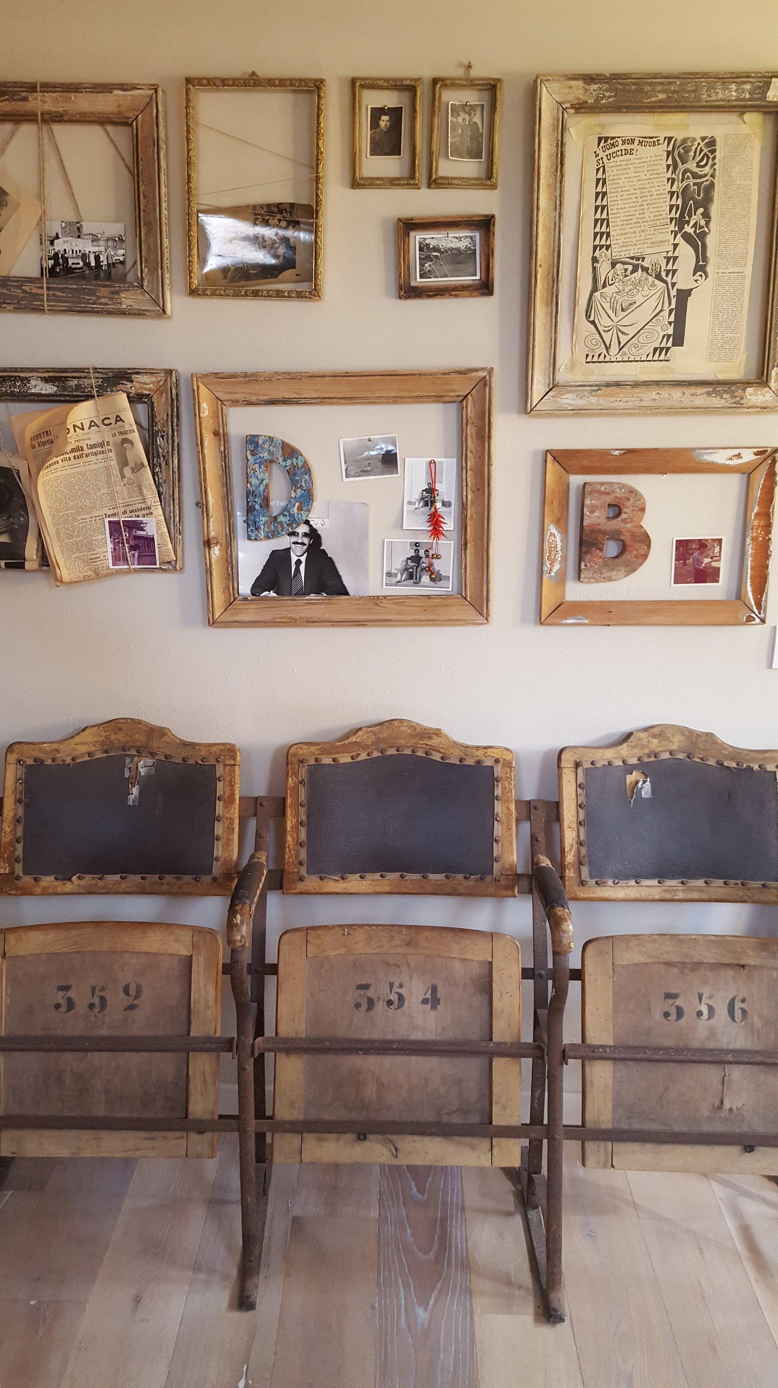 Eclectic, vintage decor