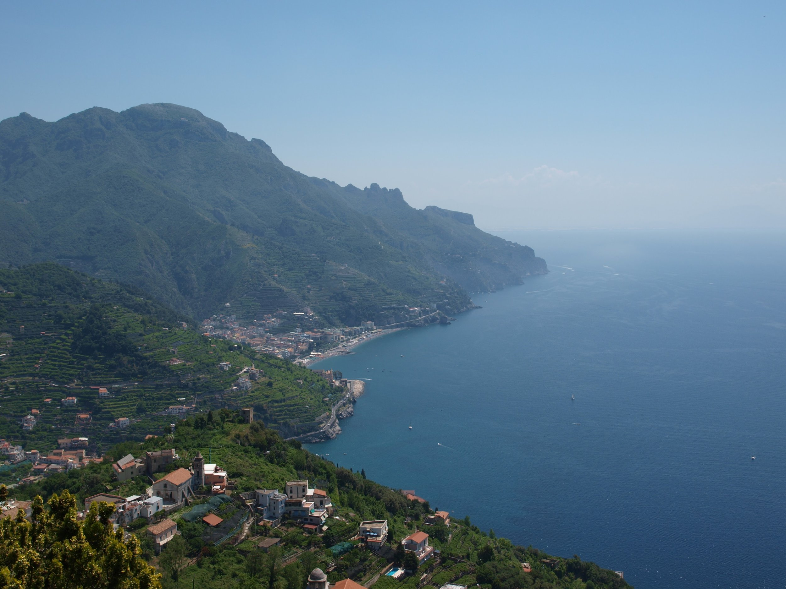 No shortage of gorgeous views from the Amalfi Coast