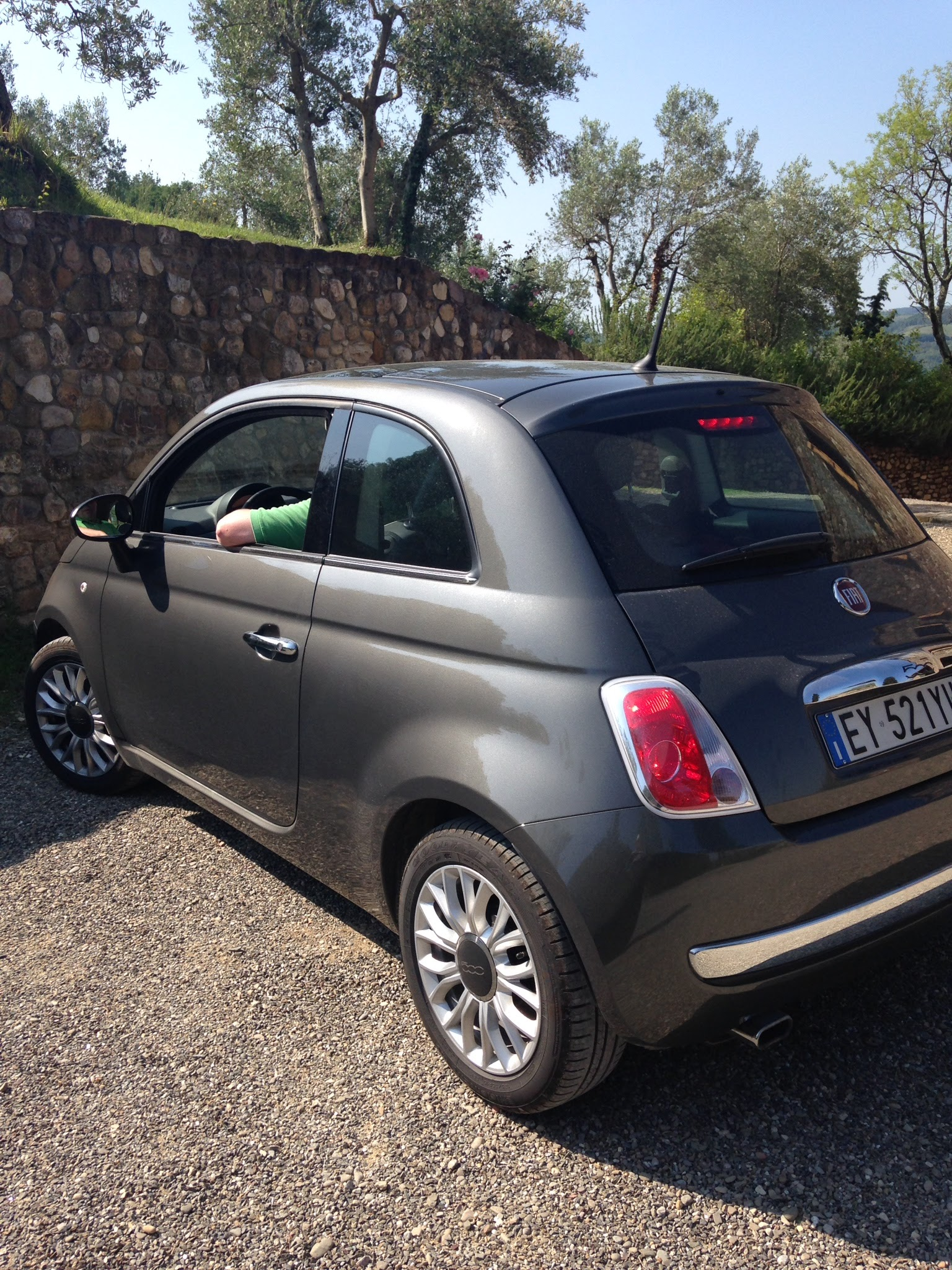 Our Fiat for the week. Meep meep!