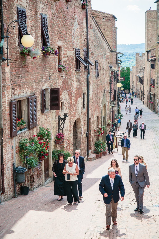 The quaint town of Certaldo Alto