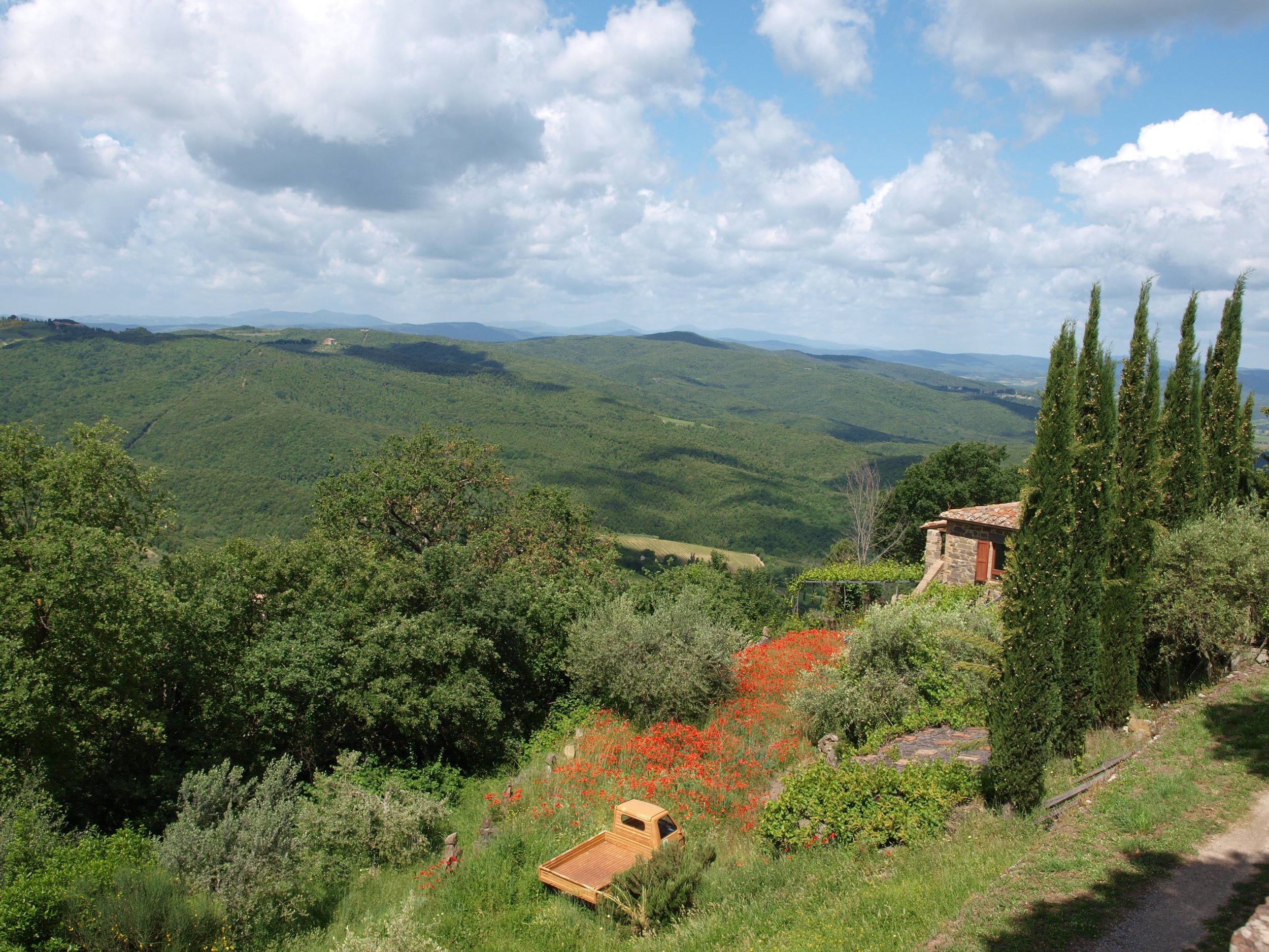 A beautiful view from Montalcino