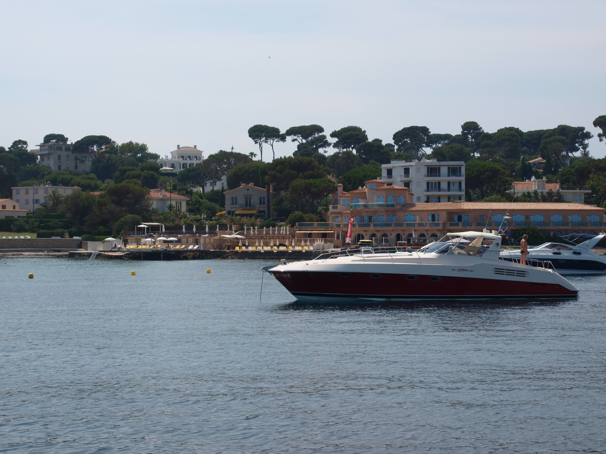Boating in Antibes