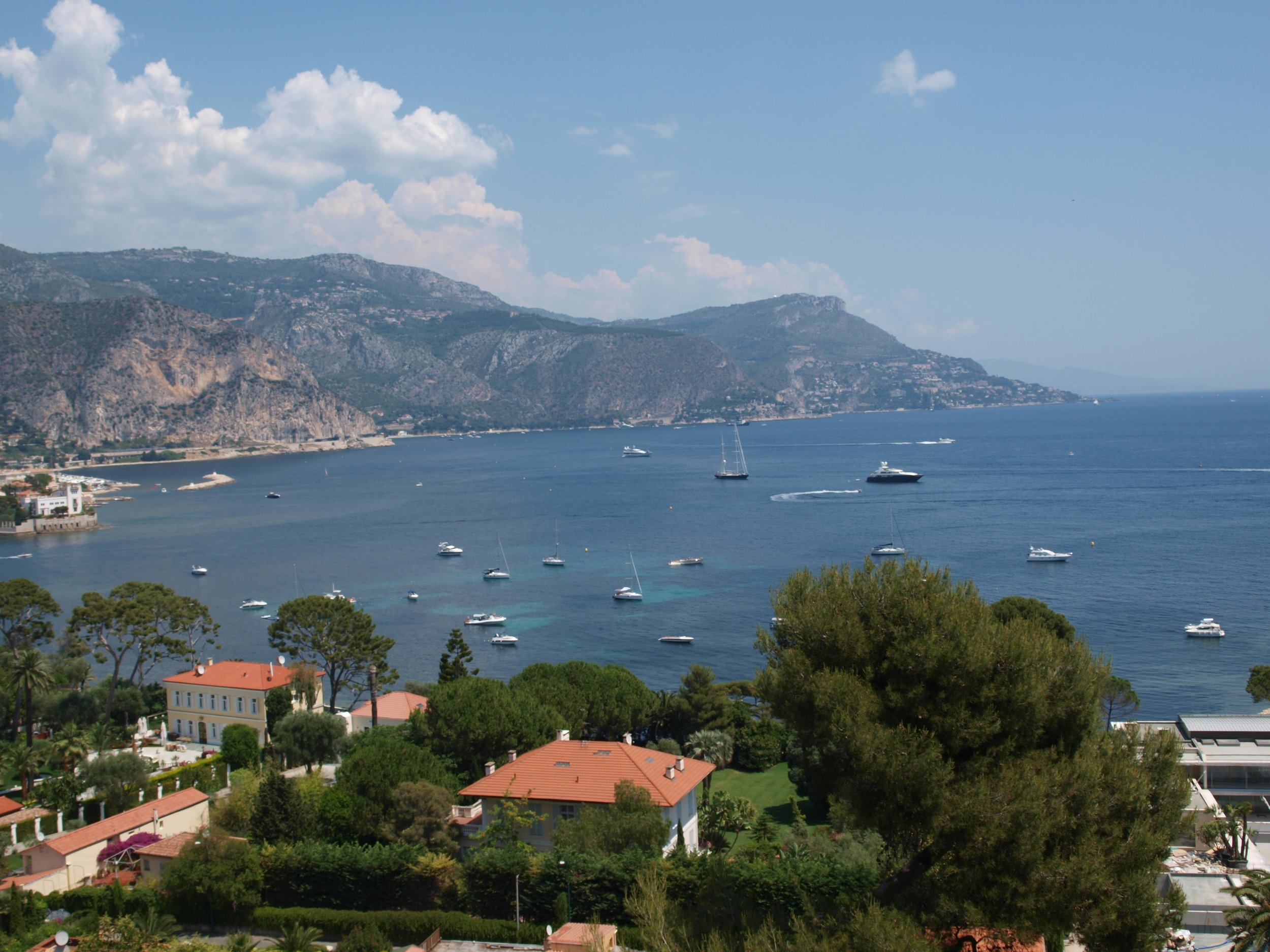 The view from Saint-Jean-Cap-Ferrat