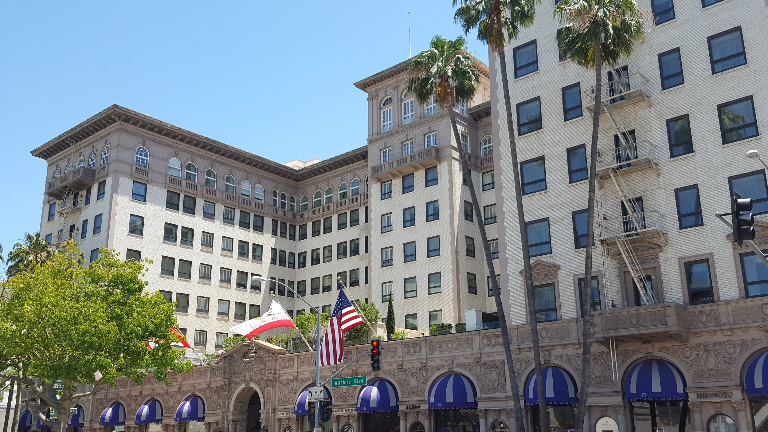 The Beverly Wilshire Grand