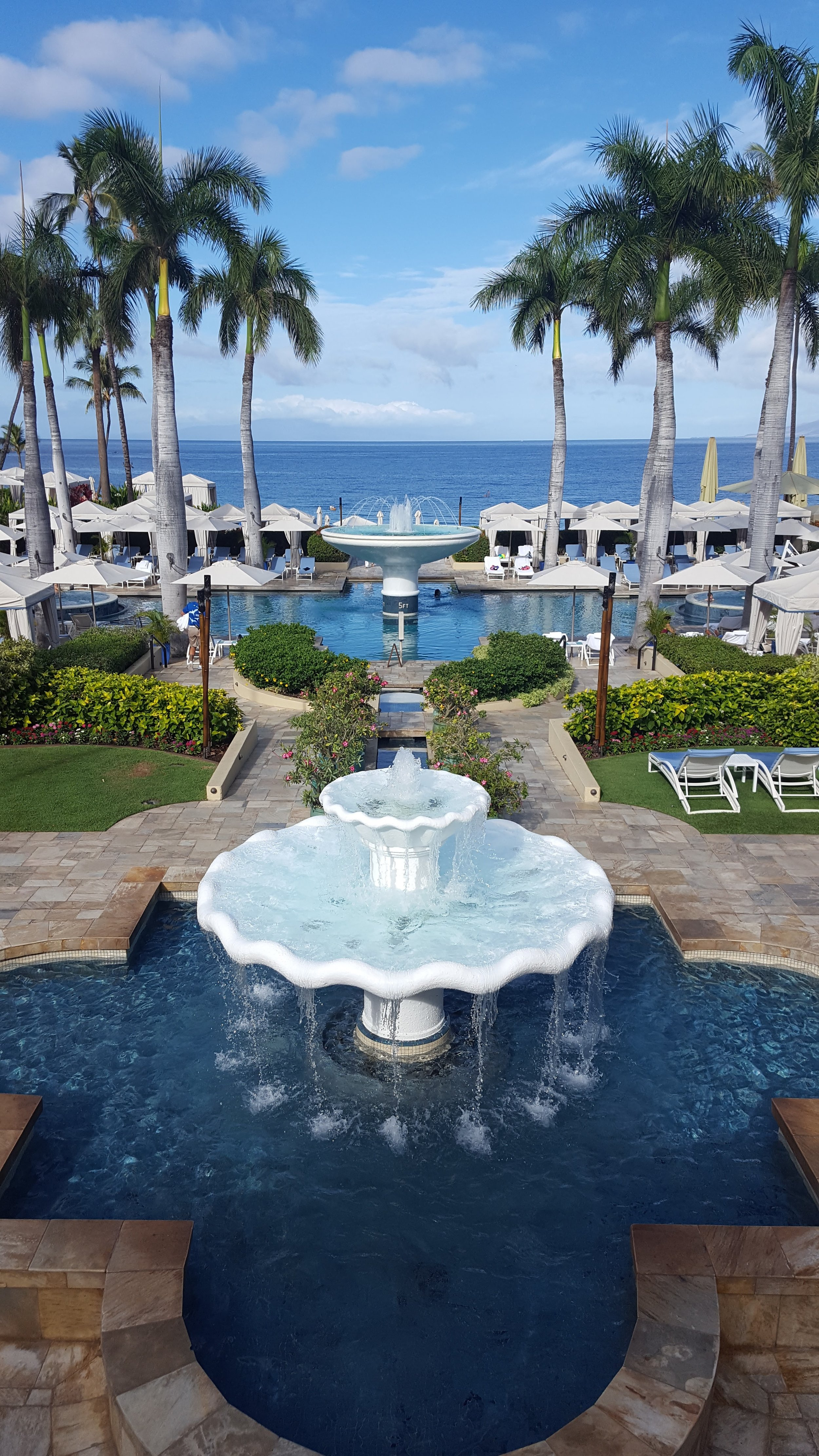 Four Seasons Wailea by day