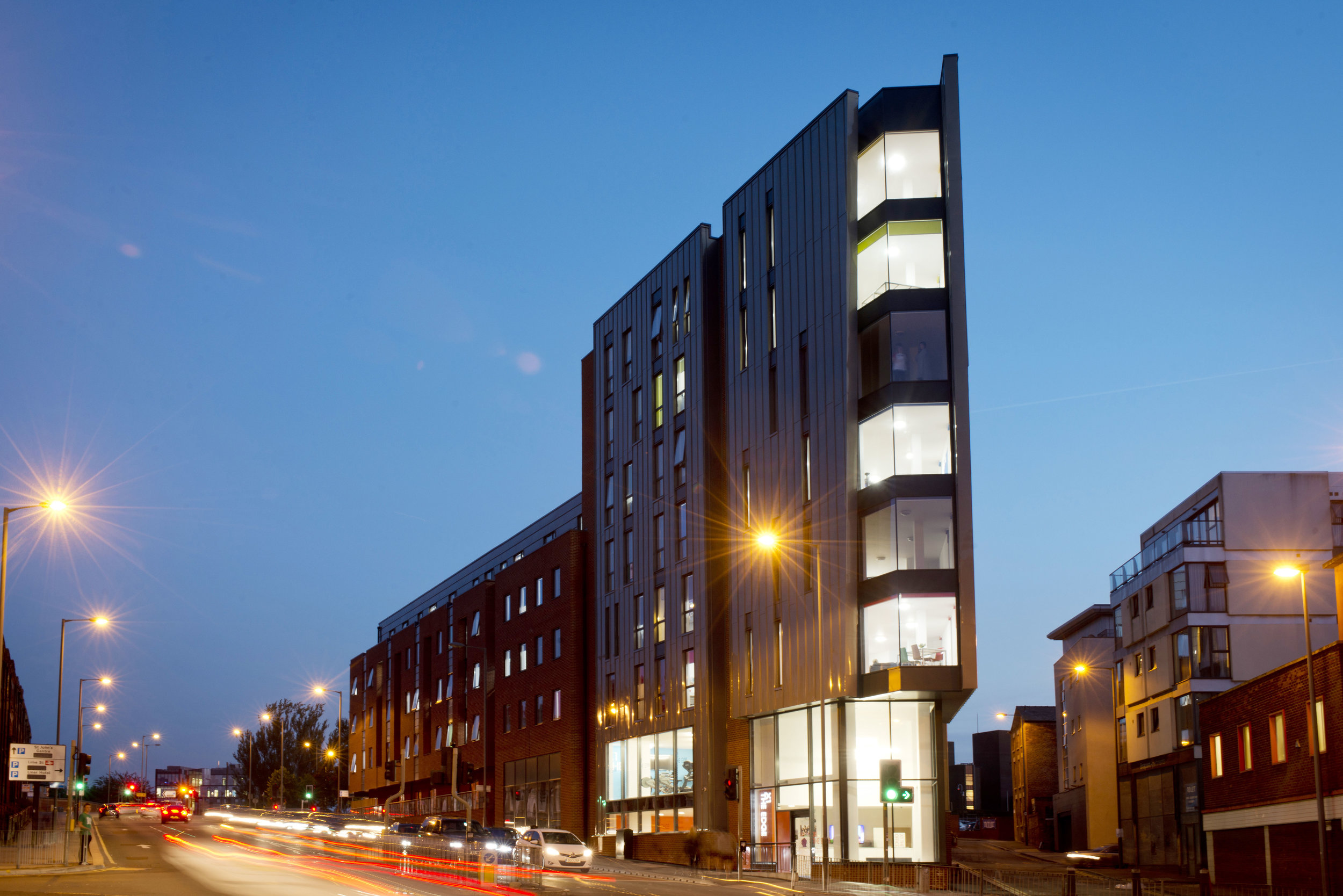 Student Accommodation: The Edge, Liverpool
