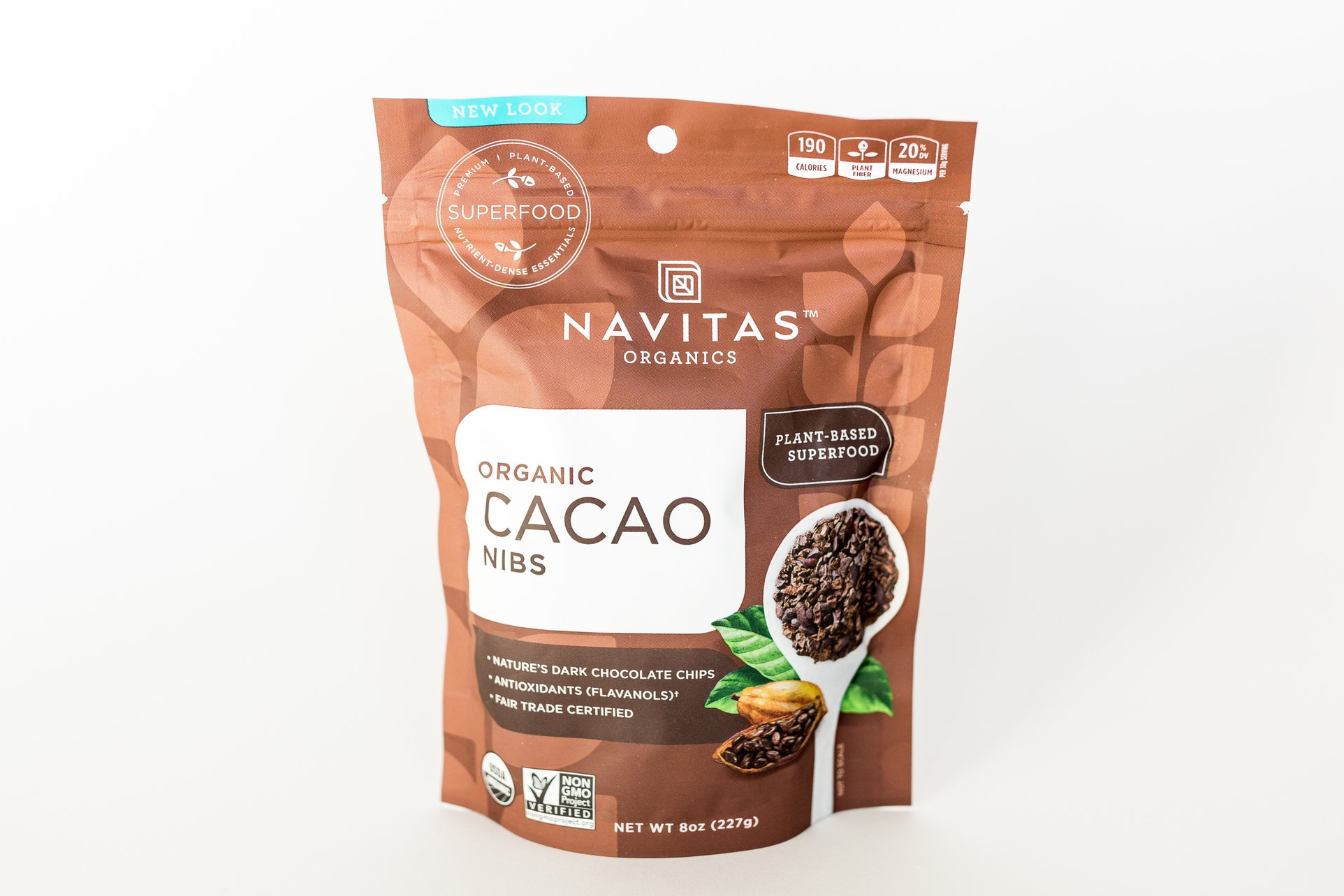 Benefits:  Cacao nibs are the purest form of chocolate, coming from the cacao plant. Cacao nibs are known for their antioxidant properties, as well as their high iron content. I personally like them for their mood and energy boosting affects, but as you can see they truly are a superfood!   Consumption : 1-2T per day, I prefer them in smoothies.