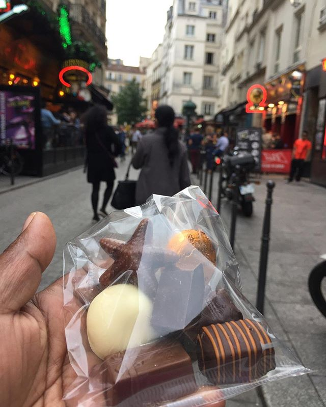Chocolat #belgiumchocolate #paris #merci #delicious