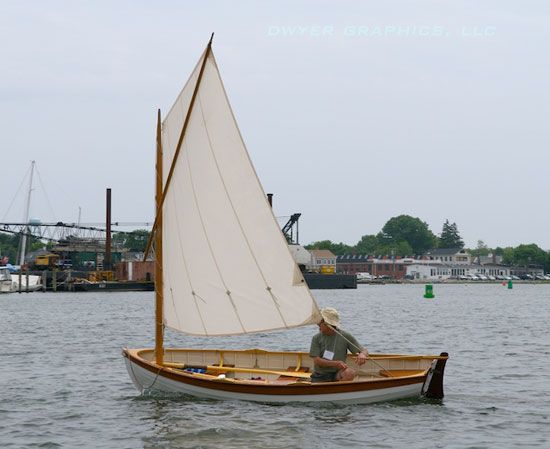 The Catspaw Dinghy, designed by NG Herreshoff and Joel White, will be our first project after some brief introductory pieces.