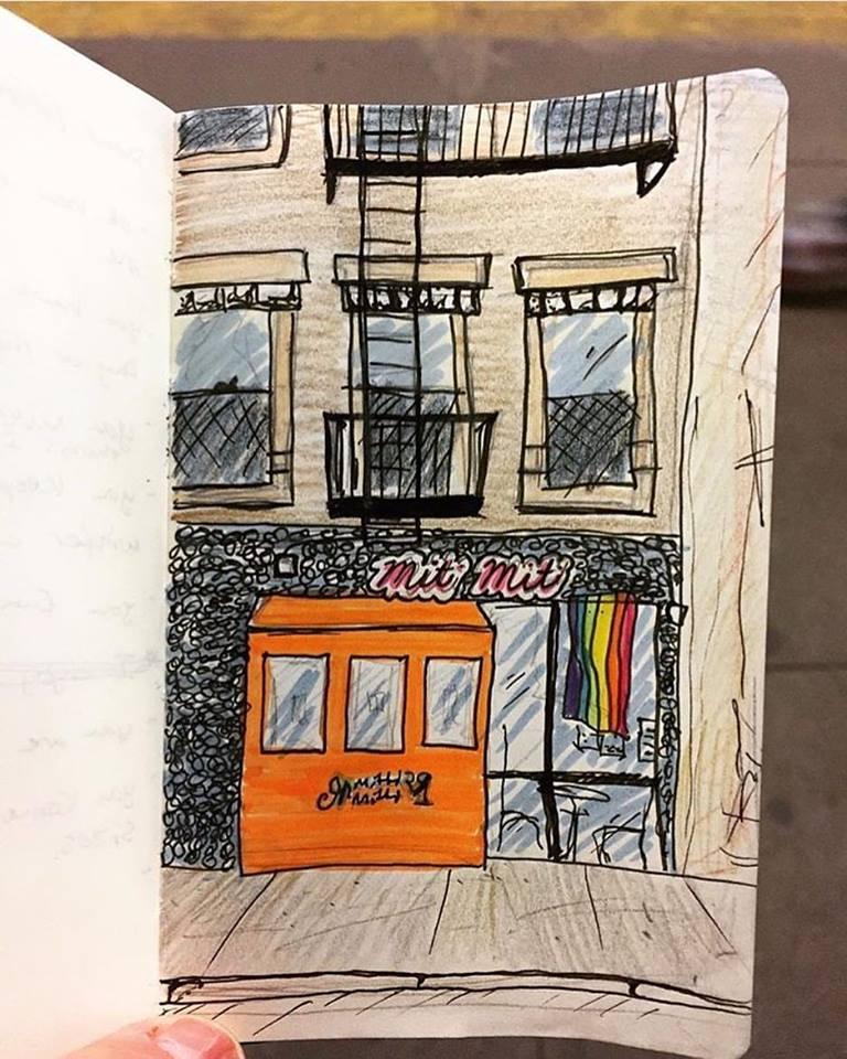 Drawing by Jon Luehmann (@jon_luehmann)