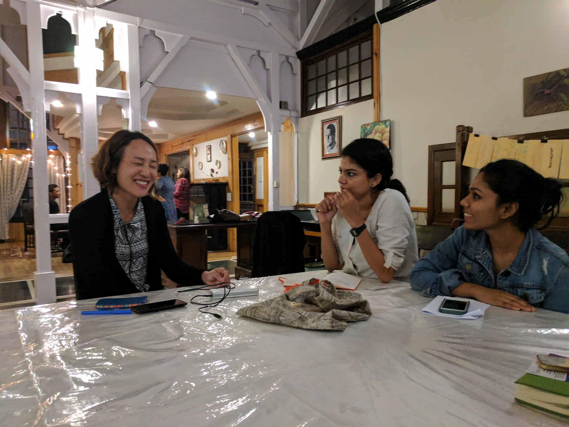 Research sessions and understanding the Creative Landscape in North East India