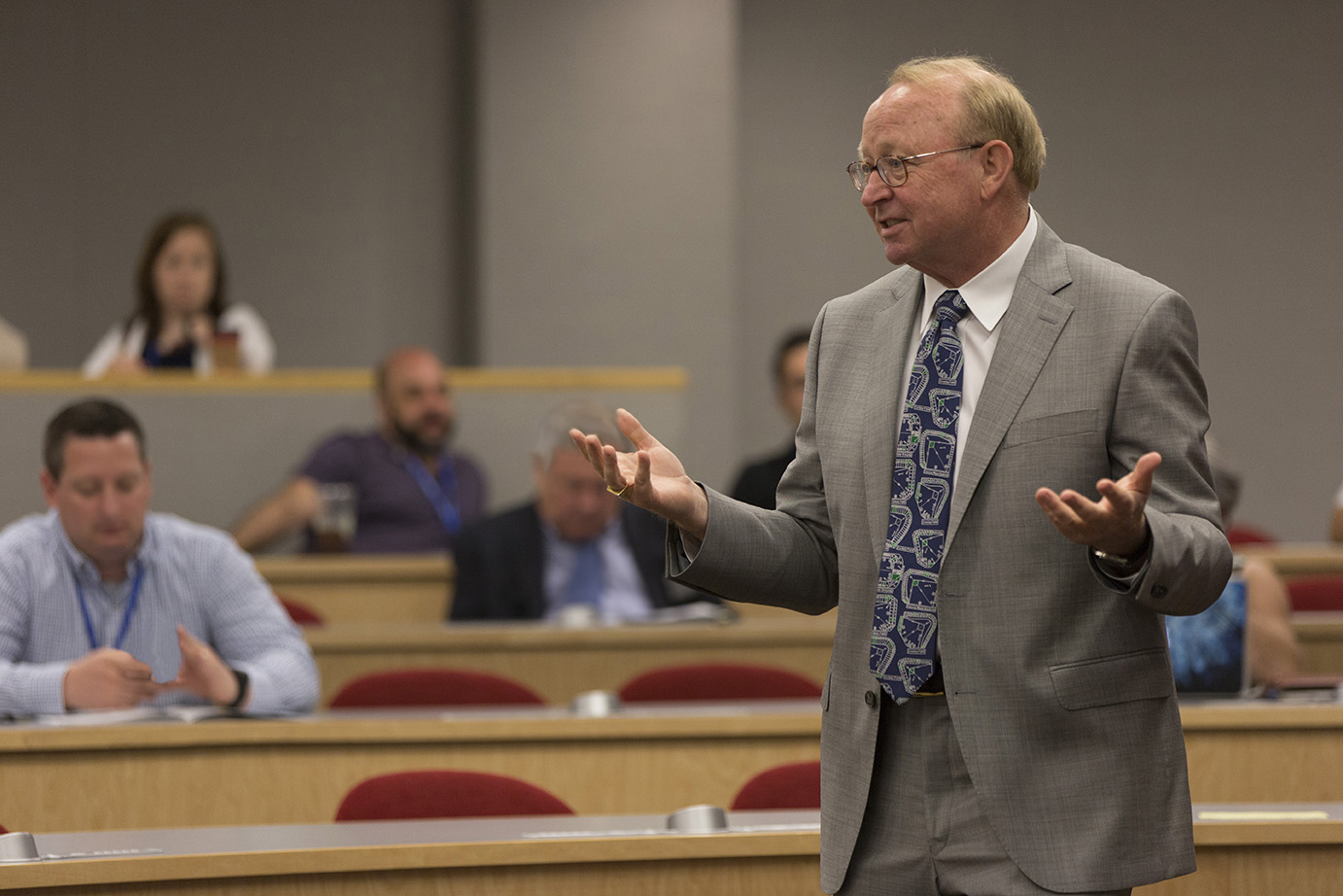 Jim Mahoney conducting educational workshop