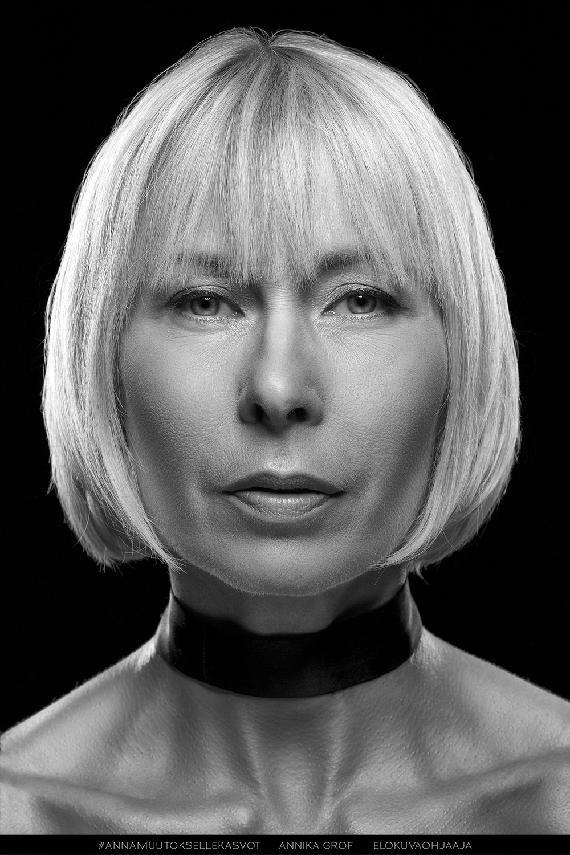 AnnaMuutokselleKasvot -kampanja, Annika Grof