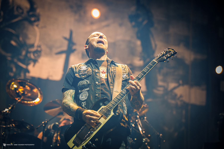 Rebelpix - Sami Turunen Photography / Volbeat @ Hartwall Arena, Helsinki