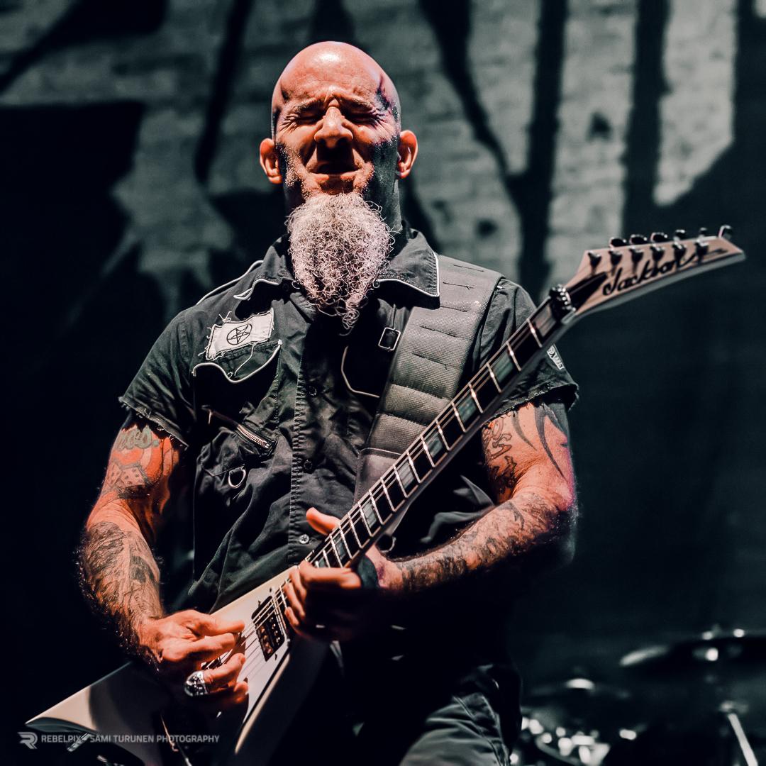 REBELPIX - Sami Turunen Photography / Anthrax @ Hartwall Arena, Helsinki