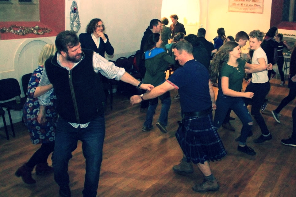 hogmanay party 2