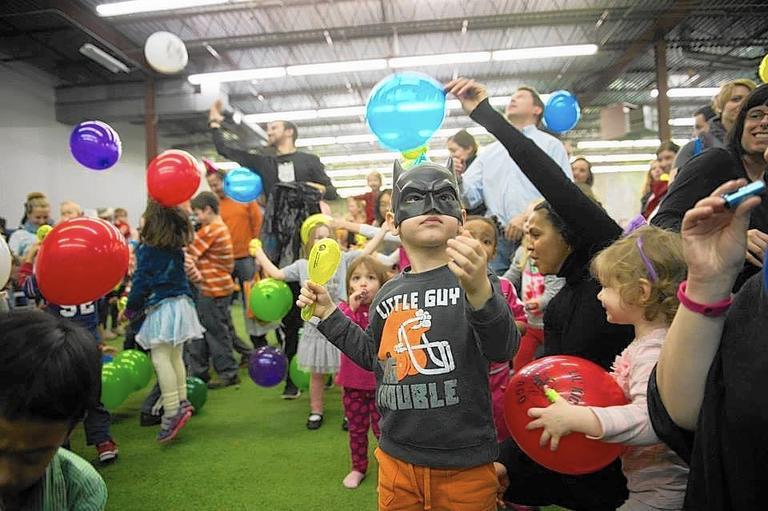 utah lil' kickers kids indoor soccer birthday party