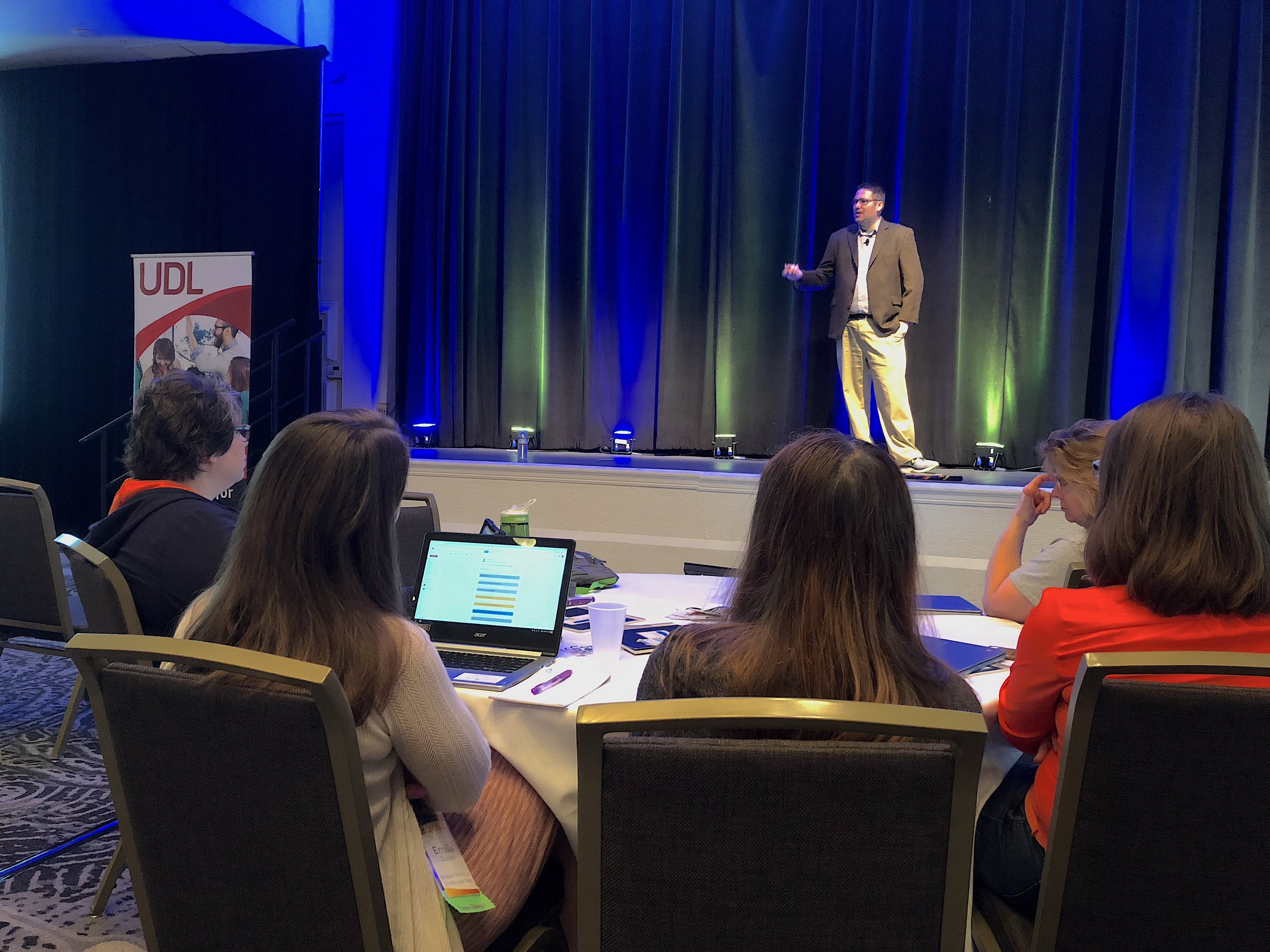Dr. Michael Kennedy presents at the 2018 Summit