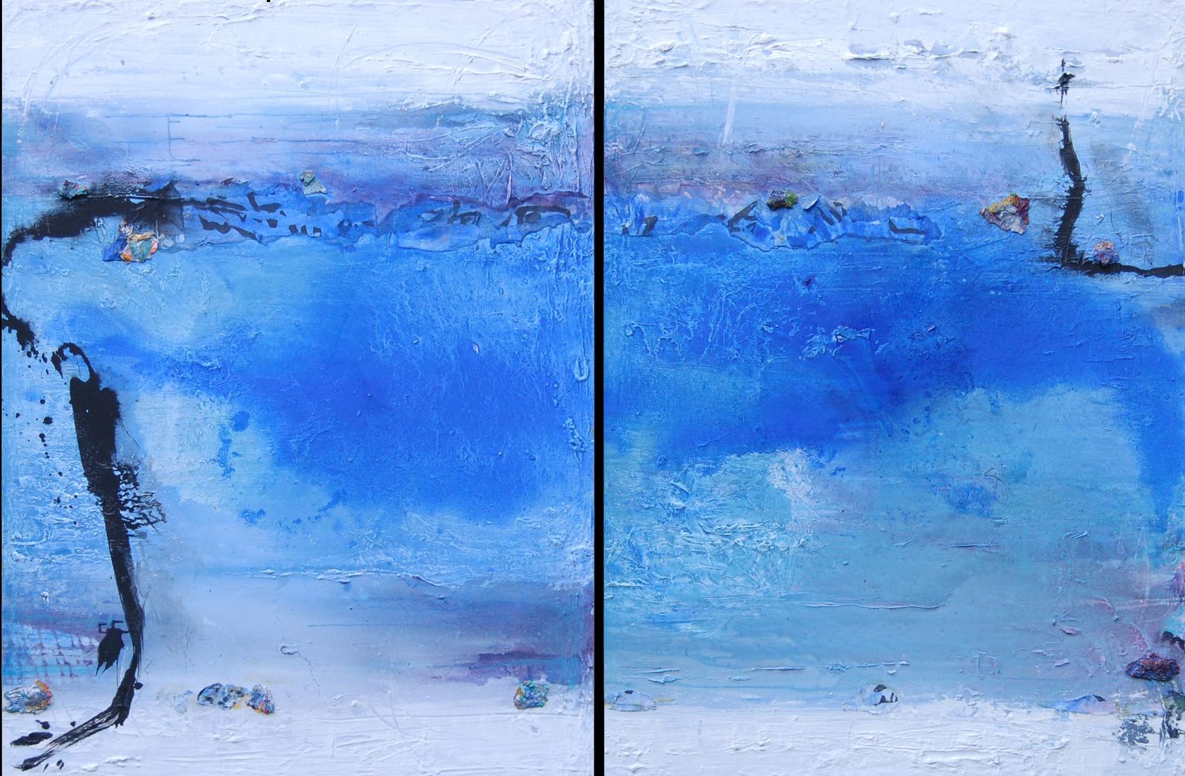 Ice Flow I, II