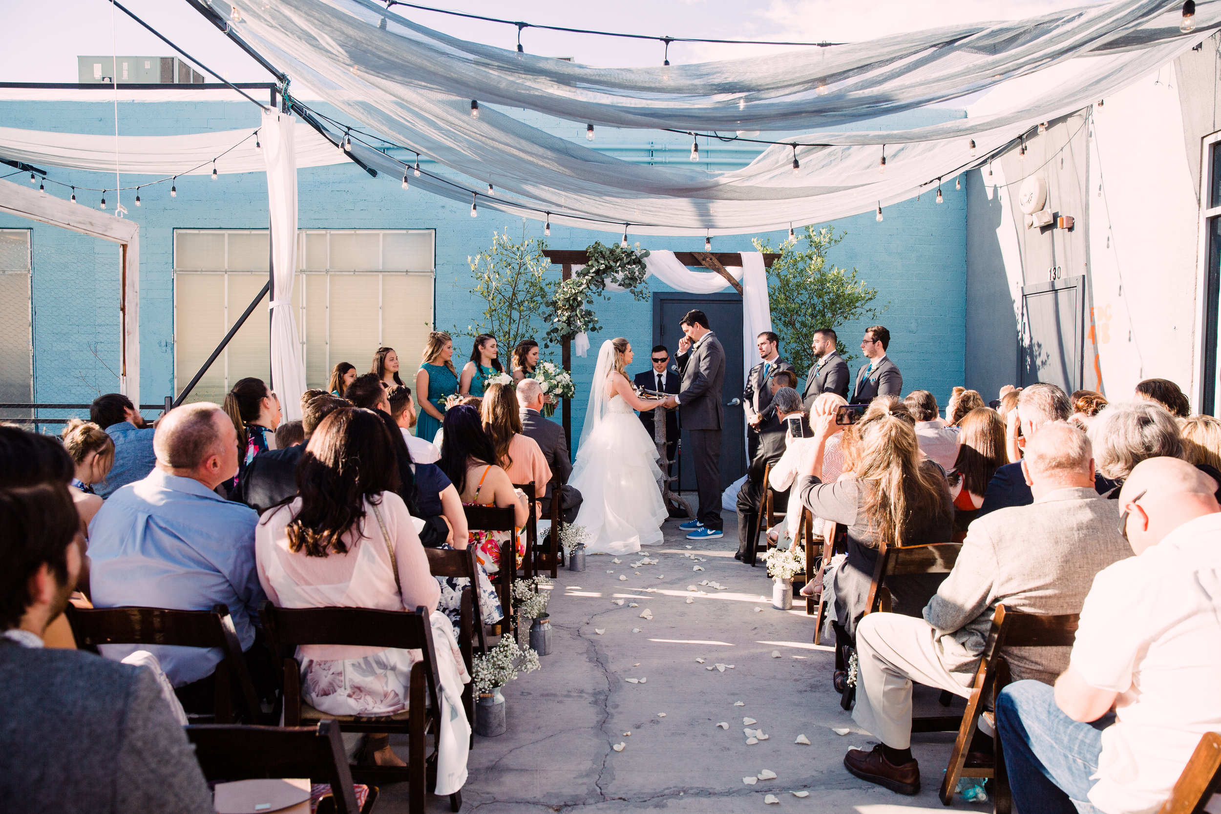 Their gorgeous ceremony
