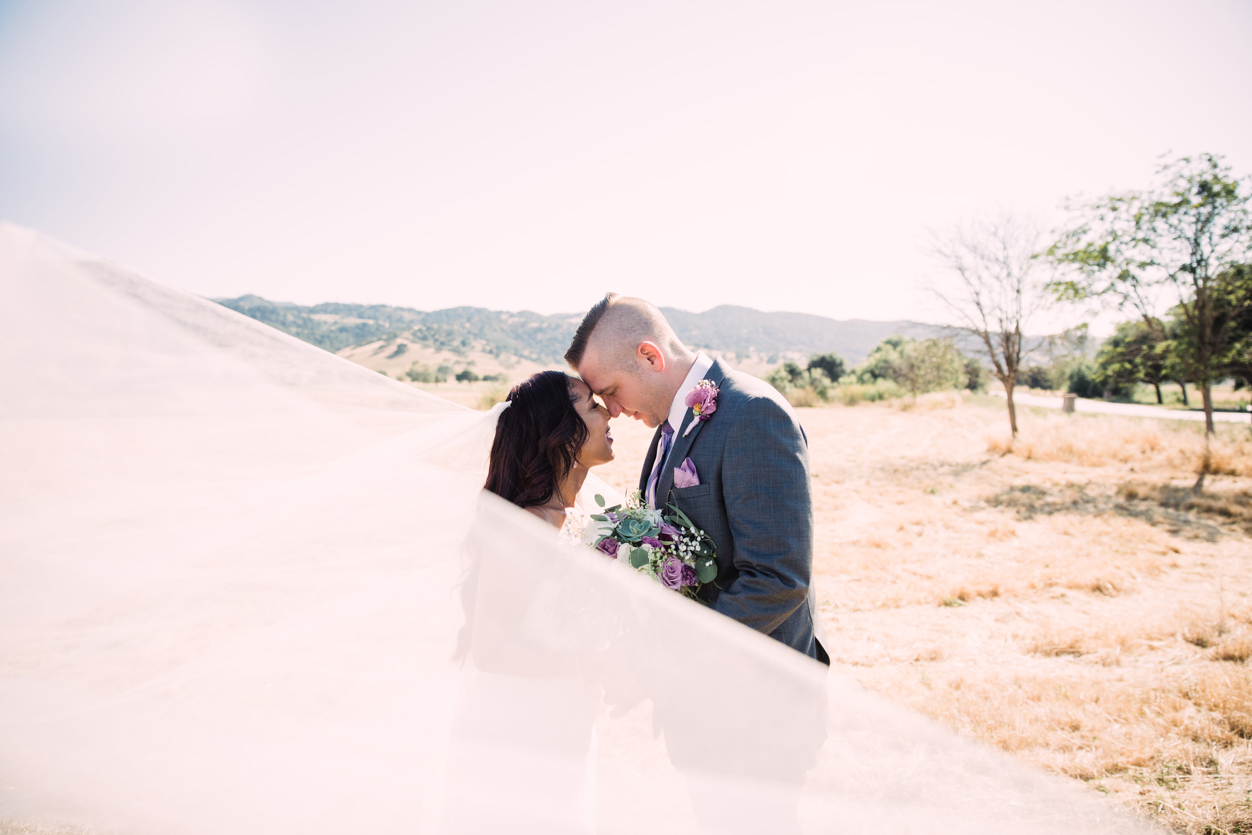 Romantic San Juan Country Club Wedding in Hollister, California